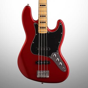 Custom Squier Vintage Modified '70s Jazz Electric Bass, Candy Apple Red