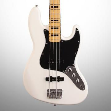 Custom Squier Vintage Modified '70s Jazz Electric Bass, Olympic White
