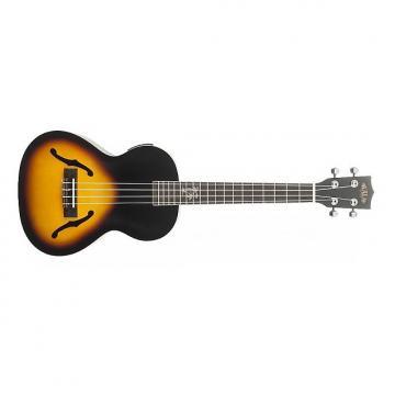 Custom Kala KA-JTE-2TS Jazz Sunburst (+ etui) - Ukulele électroacoustique Jazz Tenor