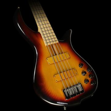 Custom Used F Bass BN5 5-String Electric Bass Sunburst