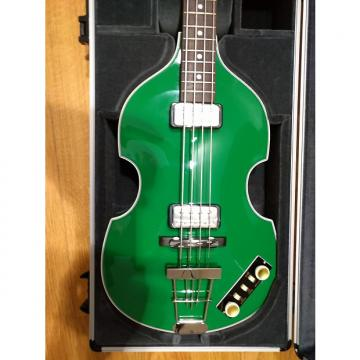 Custom 60% OFF retail! Hofner Gold-Label Custom Berlin Green Violin Bass with Hardshell case