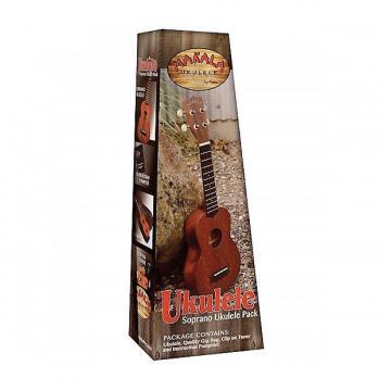 Custom Pack Kala Makala MK-S - Ukulele Soprano (+ housse + accordeur + livret)