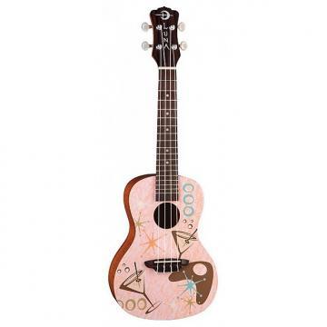 Custom Luna Ukulele Concert Pink Martini (+ housse)