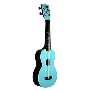 Custom Makala Waterman bleu - Ukulele Soprano