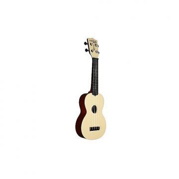 Custom Makala Waterman rouge texturé  - Ukulele Soprano