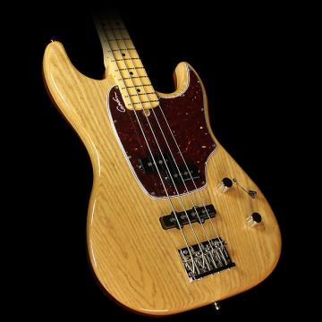 Custom Godin Passion RG-4 Swamp Ash Electric Bass Natural