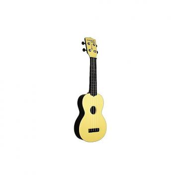 Custom Makala Waterman jaune - Ukulele Soprano