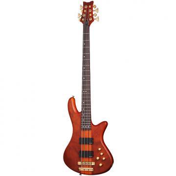 Custom Schecter Stiletto Studio-8 Honey Satin HSN Electric Bass B-Stock Studio8 Studio 8 MINT CONDITION!!!!