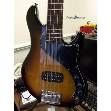 Custom Squier Deluxe Dimension V Bass 2015 3 Tone Sunburst