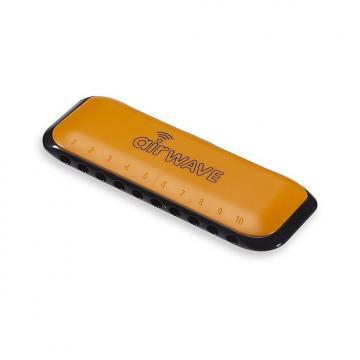 Custom Suzuki Air Wave AW1 Do - Orange - Harmonica diatonique débutant enfant