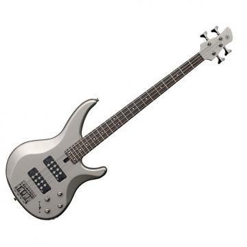 Custom Yamaha TRBX304 Electric Bass Pewter