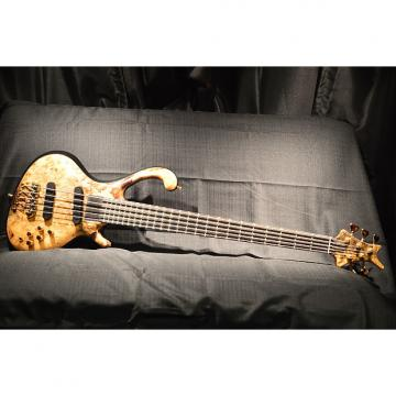 Custom Pre-Owned Ritter Roya 5-String Buck Eye Maple Active Boutique Electric Bass