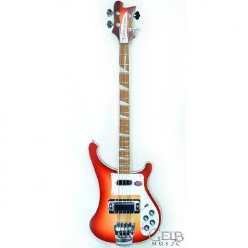 Custom Rickenbacker 4003 FireGlo True Classic Electric Bass Guitar in Sunburst, Bound Body and Neck, Full I