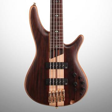 Custom Ibanez SR1805E SR Premium Electric Bass, 5-String, Natural Flat