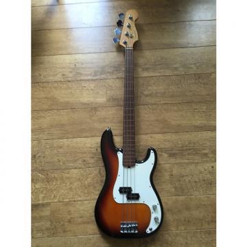 Custom Fender American Precision Fretless 1996 Sunburst -Excellent Condition-