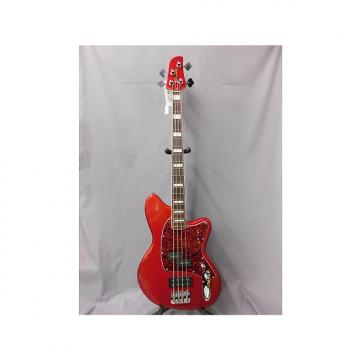 Custom Ibanez TMB300 Candy Apple Red
