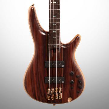 Custom Ibanez SR1900E Electric Bass, Natural Low Gloss (with Gig Bag)