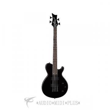 Custom Dean Guitars Evo XM 4 Strings Electric Bass Guitar Black - EVOXMBASSBKS - 819998014162
