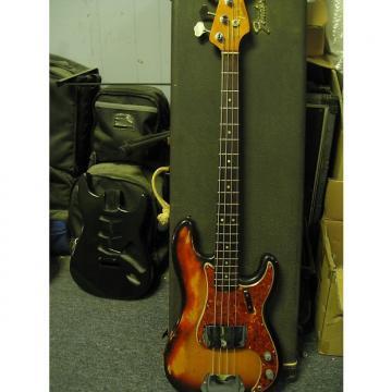 Custom Fender Percision Bass 1966 Sunburst