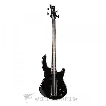 Custom Dean Guitars Edge 10 PJ W/Active Eq 4-Strings Electric Bass Guitar - Classic Black - 819998054625