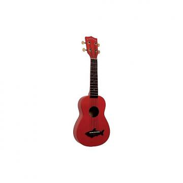 Custom Kala Makala Shark rouge MK-SS-RED (+ housse) - Ukulele Soprano