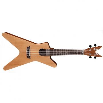 Custom Dean Ukulele ML Spruce Satin Natural *NEW* Uke with Gig Bag