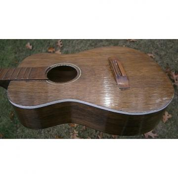 Custom Kingston Baritone Uke 1950's Dark Natural