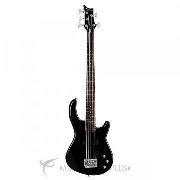 Custom Dean Guitars Edge 1-5 String Electric Bass Guitar - Classic Black - E15 CBK - 819998001186