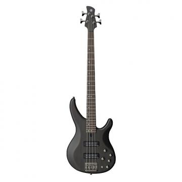 Custom Yamaha TRBX504 4 String Electric Bass Guitar Translucent Black Finish