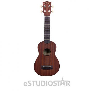 Custom Kala MK-S Makala Soprano Ukulele with Mahogany Neck and Rosewood Fretboard - Used Open Box