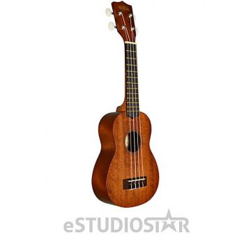 Custom Kala KA-15S Satin Mahogany Soprano Ukulele - Used Open Box