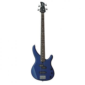 Custom Yamaha TRBX174 4 String Electric Bass Guitar Dark Blue Metallic Finish