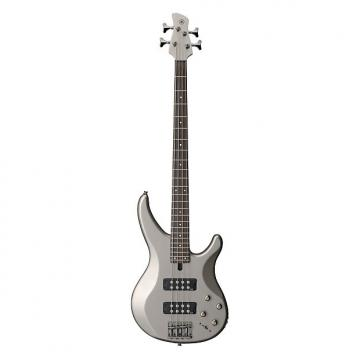 Custom Yamaha TRBX304 4 String Electric Bass Guitar Pewter Finish