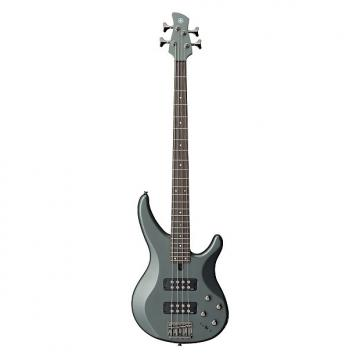 Custom Yamaha TRBX304 4 String Electric Bass Guitar Mist Green Finish