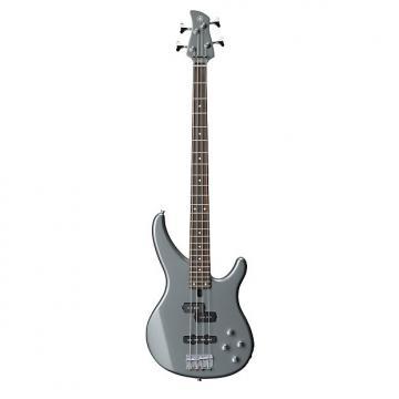 Custom Yamaha TRBX204 4 String Electric Bass Guitar Gray Metallic Finish