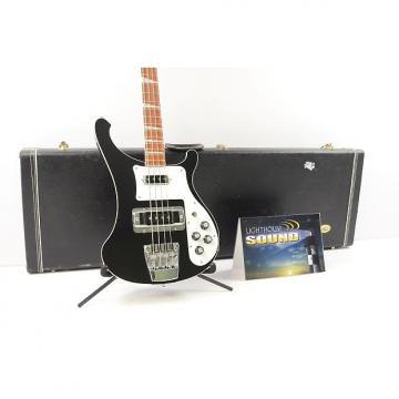 Custom 2010 Rickenbacker Model 4003 Stereo Bass Guitar - Jetglo w/Case