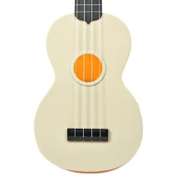 Custom Makala Waterman Composite Soprano Ukulele Swirl Orange