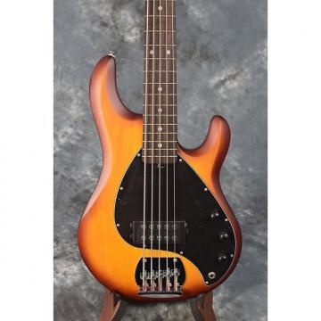 Custom Sterling SUB Series RAY5 Honeyburst 5 String Bass Guitar by Music Man
