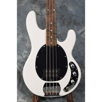 Custom Sterling SUB RAY4 4 String Bass Guitar by Music Man - White