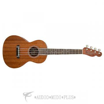 Custom Fender Ukulele Hau'oli All laminate mahogany Ukelele - Natural -  0955630021 - 717669752927