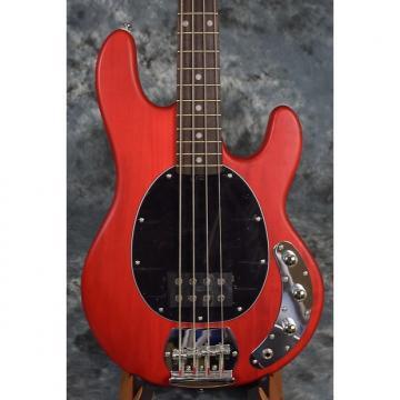 Custom Sterling SUB RAY4 4 String Bass Guitar by Music Man - Red