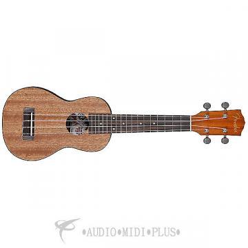 Custom Fender Ukulele U'Uku  Soprano Ukelele - Natural -  0955645021 -885978087631