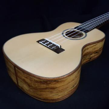 Custom New KALA KA-FMCG FM CG Concert Ukulele Solid Spruce Top Flame Spalted Maple