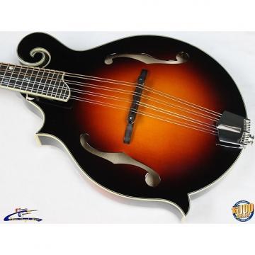 Custom Eastman MD615-SB Left-Handed F-Style Mandolin w/HSC Solid Woods Sunburst #37640