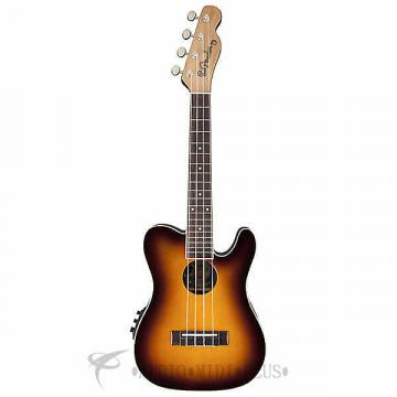 Custom Fender 52 Ukulele 4 Strings Rosewood Fingerboard 2-Color Sunburst - 0955566021 - 885978276974