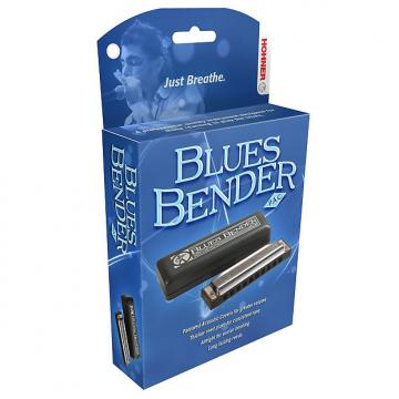 Custom Hohner Blues Bender Harmonica, Key of F
