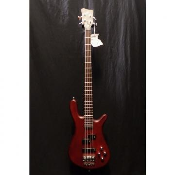 Custom Warwick GPS Pro Series Streamer LX 4 in Burgundy Red & Gig Bag #9115