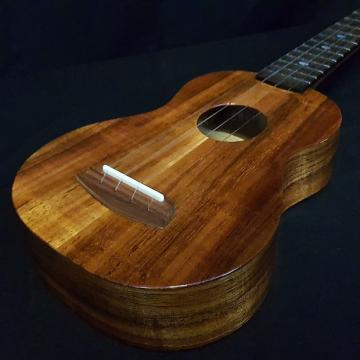 Custom New KALA ELITE 1KOA-SG Soprano Ukulele Solid Koa Made in U.S.A. with Case