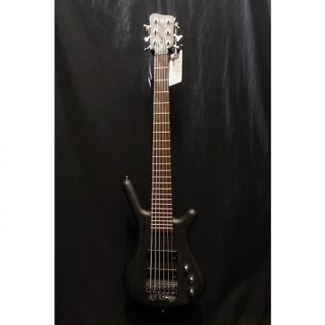 Custom Warwick GPS Pro Series Corvette 6 String Bass in Nirvana Black & Gig Bag #8215