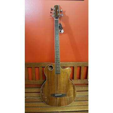 Custom Boulder Creek Acoustic Bass  EBR6-N5 2016 Laminated Koa